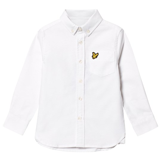 Lyle & Scott White Oxford Shirt Bright White
