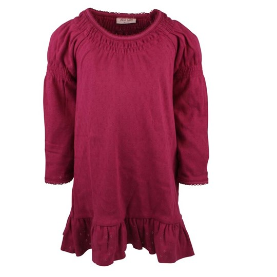 Noa Noa Miniature Dress Doria Light Burgundy Pink