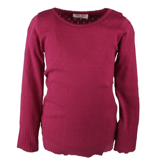 Noa Noa Miniature Mini Basic Doria Burgundy Pink