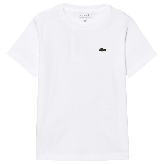 Lacoste White Classic Tee 001