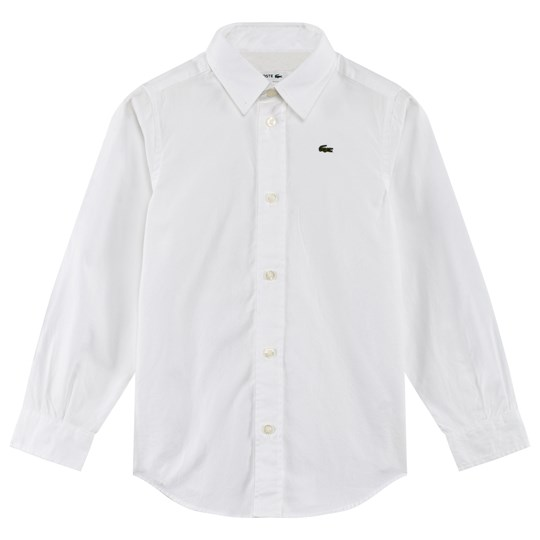 Lacoste White Oxford Shirt 001