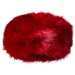 Bandit`s Girl Red Faux Fur Hat