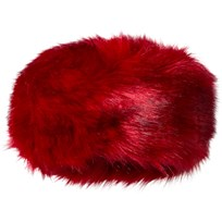 Bandit's Girl Red Faux Fur Hat Red
