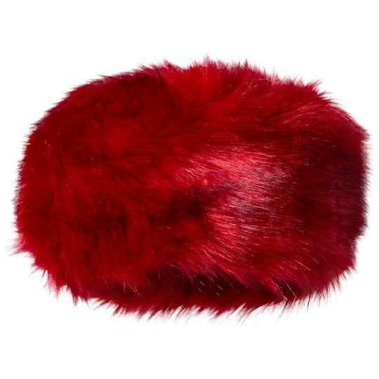 Bandit`s Girl Red Faux Fur Hat Red