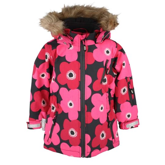 Ticket to heaven Kamini Jacket Graphite Flower Pink