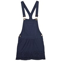 Scotch R'belle Blue Lace Trim Dungarees Dress 0004