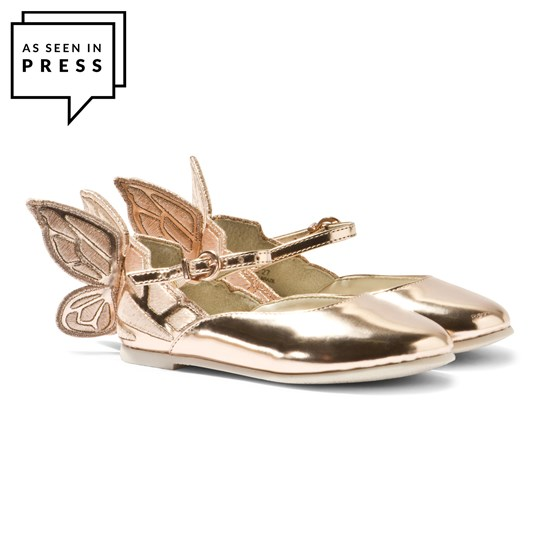 Sophia Webster Mini Chiara Mini Rose Gold Butterfly Shoes Rose Gold