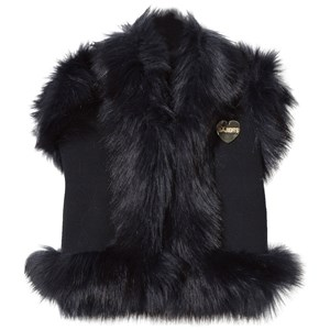 Image of Bandit`s Girl Navy Faux Fur Gilet L (8-9 years) (2839677485)