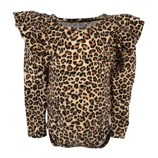 The BRAND Baby Flounce Leopard Multi