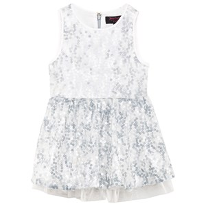 Image of Juicy Couture Ice Blue Sequin Party Dress 10 years (2839678873)