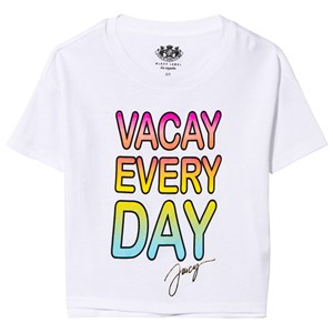 Image of Juicy Couture White Vacay Every Day Tee 6-7 years (2839689493)