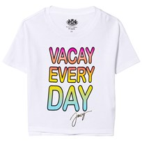 Juicy Couture White Vacay Every Day Tee White