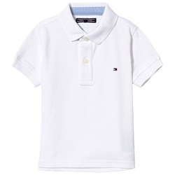 Tommy Hilfiger White Classic Pique Polo