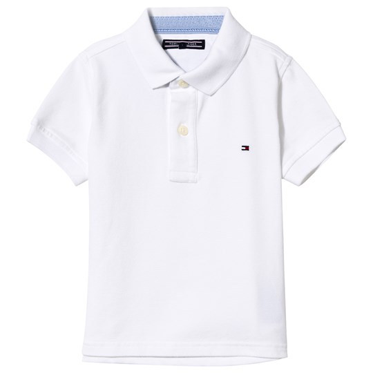 Tommy Hilfiger White Classic Pique Polo 100