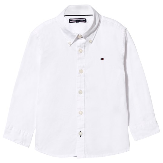 Tommy Hilfiger Classic Oxford Shirt in White 100