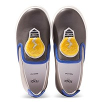 Fendi Blue Slip On Lighbulb Shoes F0A00