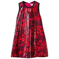 Kenzo Multi Leopard Print and Sequin Jersey Dress 39