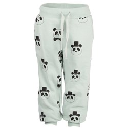 Mini Rodini Panda Sweatpants Turquise