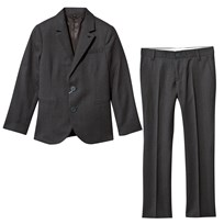 Armani Junior Charcoal Wool 2 Button Suit 1300