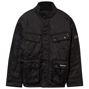 Bilde av Barbour Black Ariel Polarquilt Jacket M (8-9 Years)