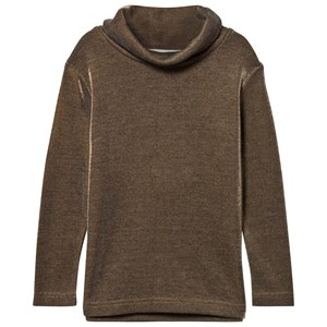 Image of Anne Kurris Gold Glitter Polo Neck Top 4 years (2831875255)