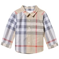 Burberry Classic Check Long Sleeve Shirt Pale Classic Check