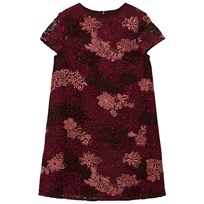 Burberry Deep Claret Embroidered Lace Dress (TAKEDOWN WMNS) Deep Claret