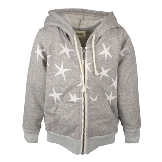 Bobo Choses Hooded Sweatshirt Stars Black