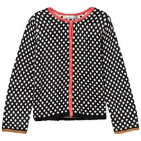 Catimini Black and White Graphic Knit Cardigan 02