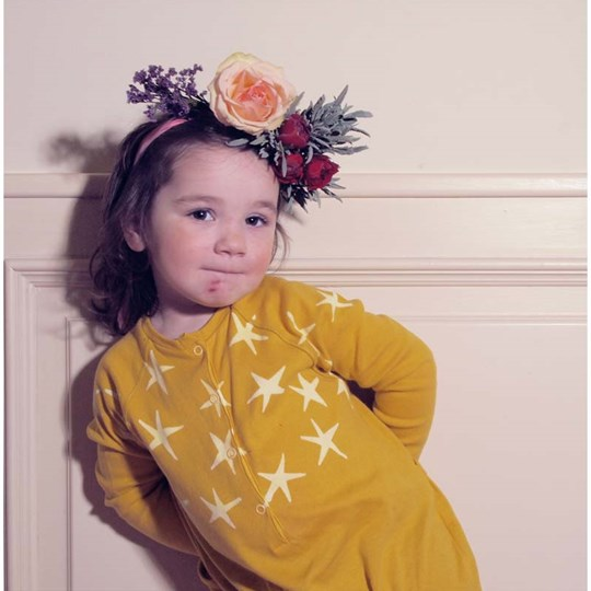 Bobo Choses Jumpsuit Stars Yellow