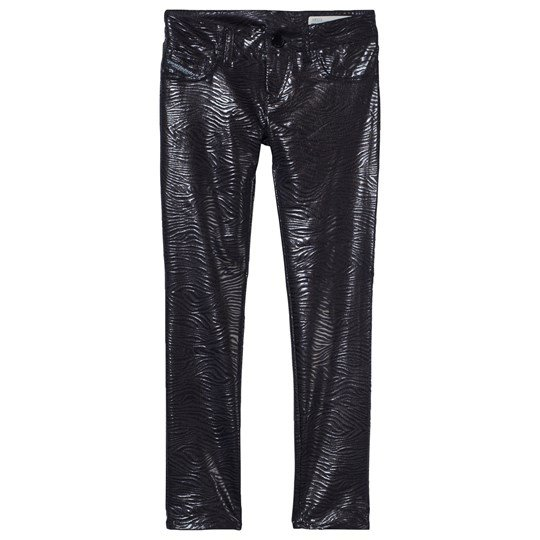 Diesel Black Snakeskin SpeedJegg Jeggings K900
