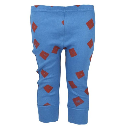 Bobo Choses Leggings Triangles All Over Blue