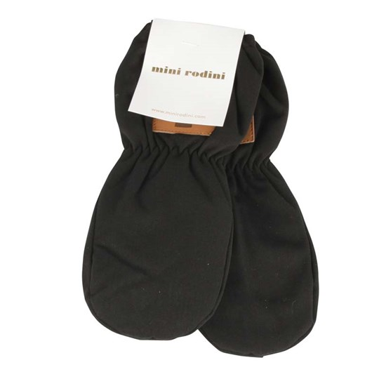 Mini Rodini Thermo Gloves Black Black