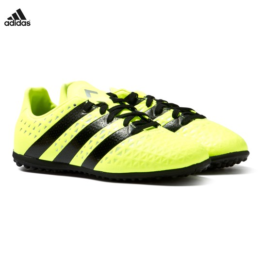 adidas Performance Yellow ACE 16.3 Turf Football Boots SOLAR YELLOW
