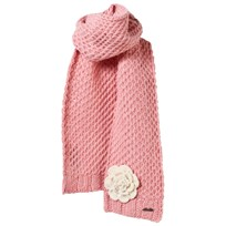 Barts Pink Knitted Rose Scarf 08 BLUSH