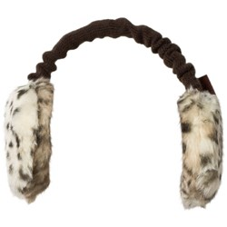 Barts Animal Print Faux Fur Plush Earmuffs