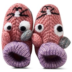 Barts Pink Cuddle Shoes