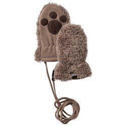 Barts Brown Noa Paws Mittens
