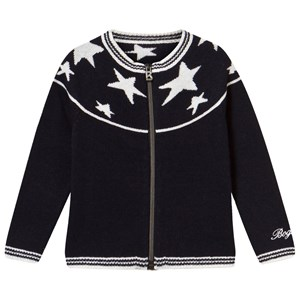 Image of Bogner Navy Fullzip Cardigan With Navy Stars S (5-6 years) (2939927185)