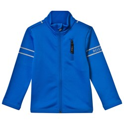 Bogner Blue Full Zip Cai Shell Jacket