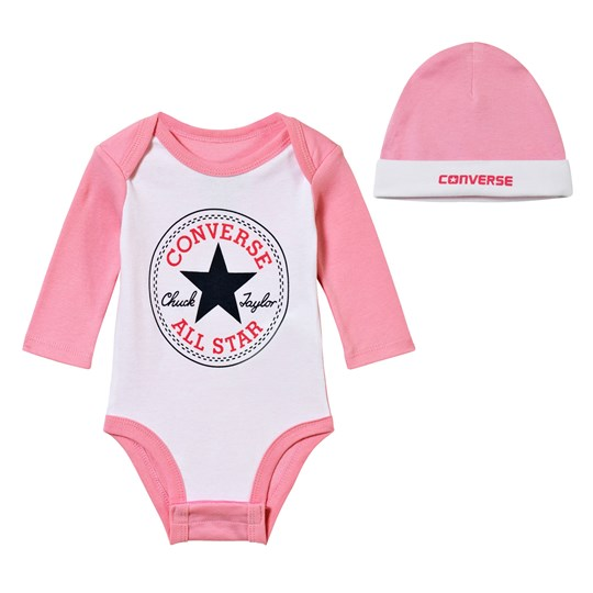 Converse Pack of 2 Chuck Patch Creeper Bodies and Hat Set A3H ICY PINK