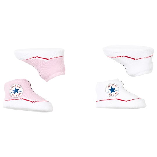 Converse Pink and White Chuck Booties Boxed Set 190 CHUCK PINK