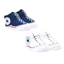Converse Navy and White Chuck Booties Boxed Set 178 CONVERSE NAVY