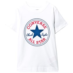 Converse Chuck Patch Tee in White