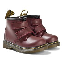 Dr. Martens Brooklee Cherry Red Velcro Infants Boots Cherry Red
