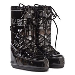 Moon Boot Black Star Wars Darth Vader Moon Boots