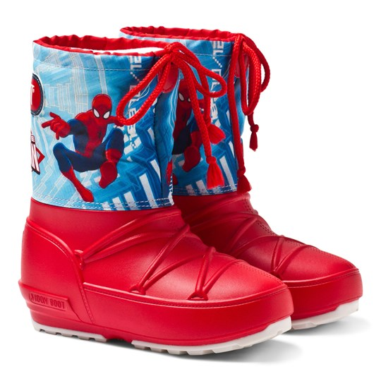 Moon Boot Spiderman Pod Moon Boots 001 RED-BLUE