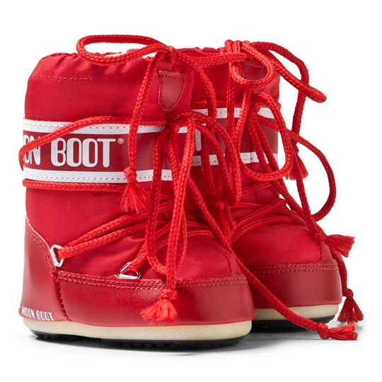 Moon Boot Red Mini Moon Boots 003 RED
