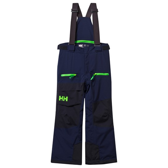 Helly Hansen Navy Junior Powder Ski Pants 689 EVENING BLUE