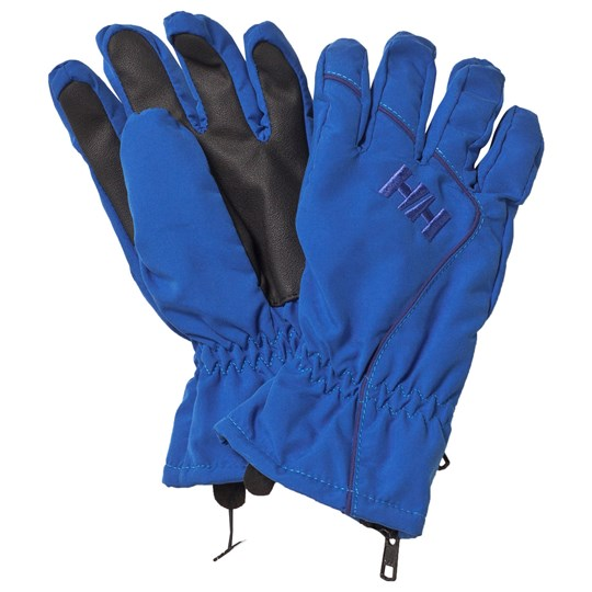 Helly Hansen Blue Tyro Ski Gloves 535 RACER BLUE